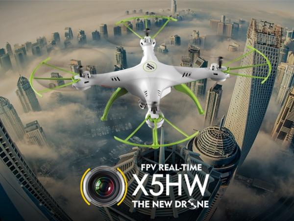 SYMA X5cHW - Wifi kamera - Aretace letové hladiny