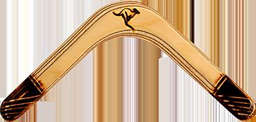 Bumerang Pyro - Pravoruký