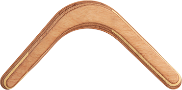 Bumerang Minimalista - Pravoruký