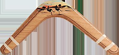 Bumerang Scenérista - Pravoruký