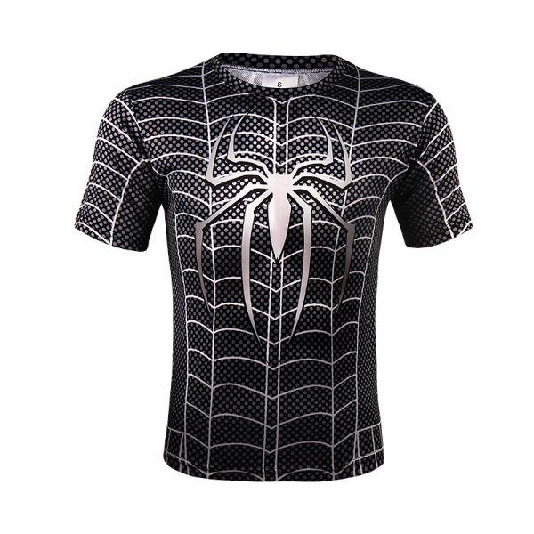 Sportovní tričko - Spiderman (Symbiote) - Velikost - L