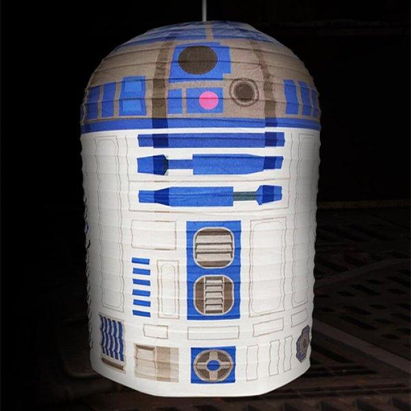 Papírové stínidlo Star Wars - R2-D2