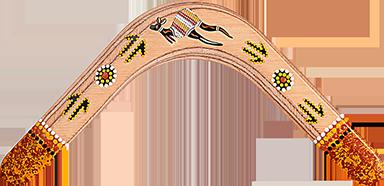 Bumerang Skippy - Pravoruký