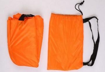 Samonafukovací pytel Lazy Bag - jednovrstvý - oranžový