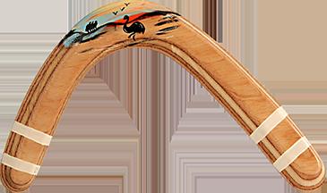 Bumerang Hook - Pravoruký