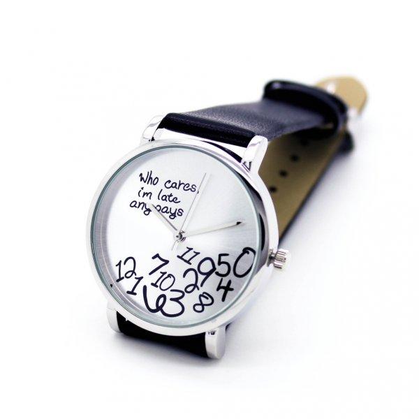 Náramkové hodinky I'm late anyways