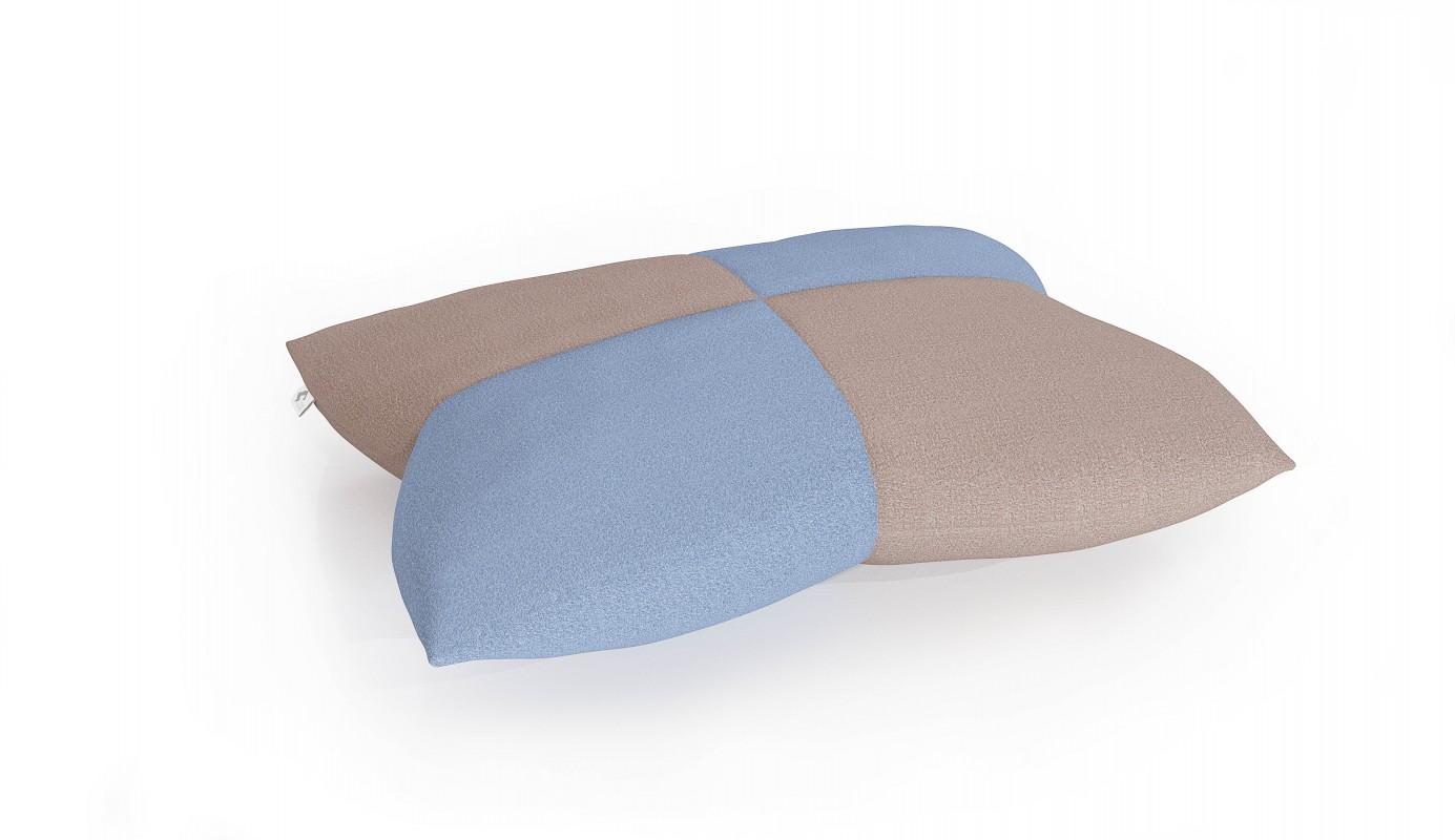 ZVOLTE BAREVNOU VARIANTU béžová / pastelová modrá