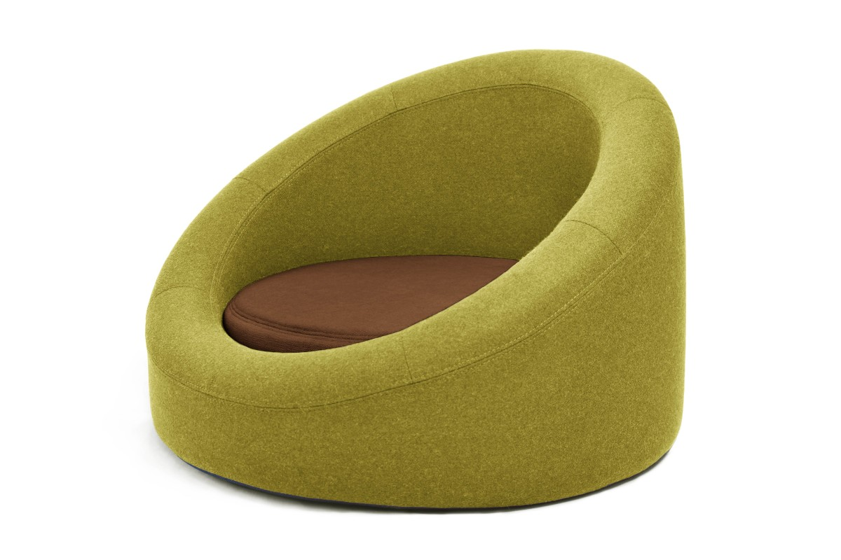 SELECT COLOUR COMBINATION Lime melange / Brown