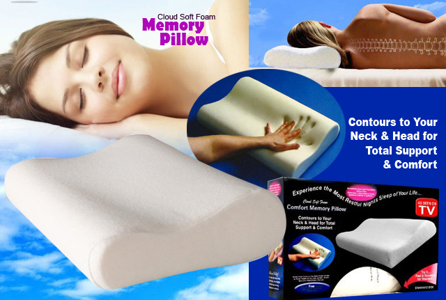 Anatomický polštář - Comfort memory pillow
