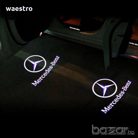 Auto LED logo projektor door-Light - Auto LED logo - BENZ