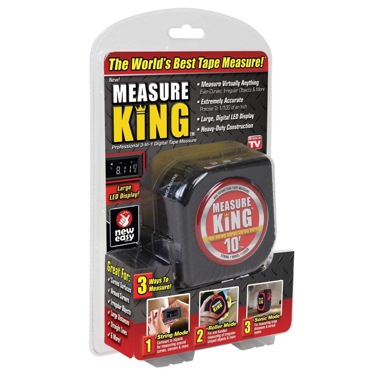 Multifunkční laser metr KING