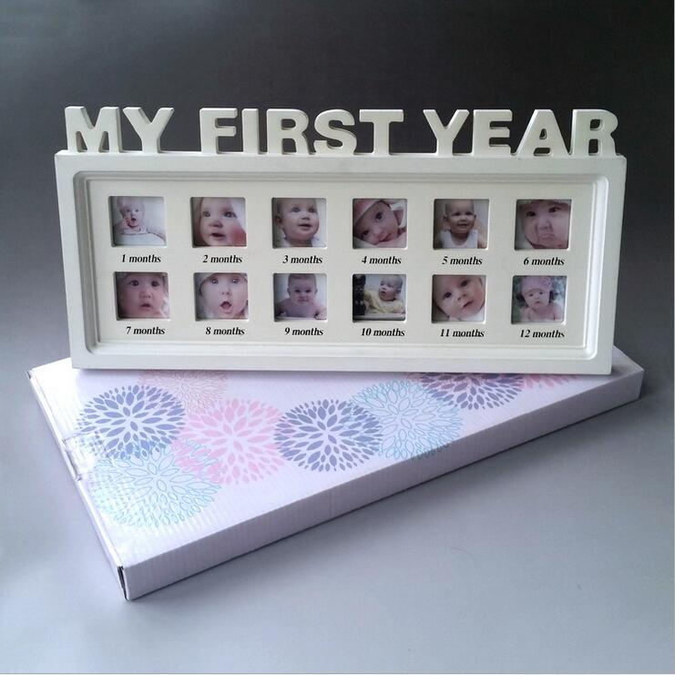 Fotorámeček - První rok dítěte
