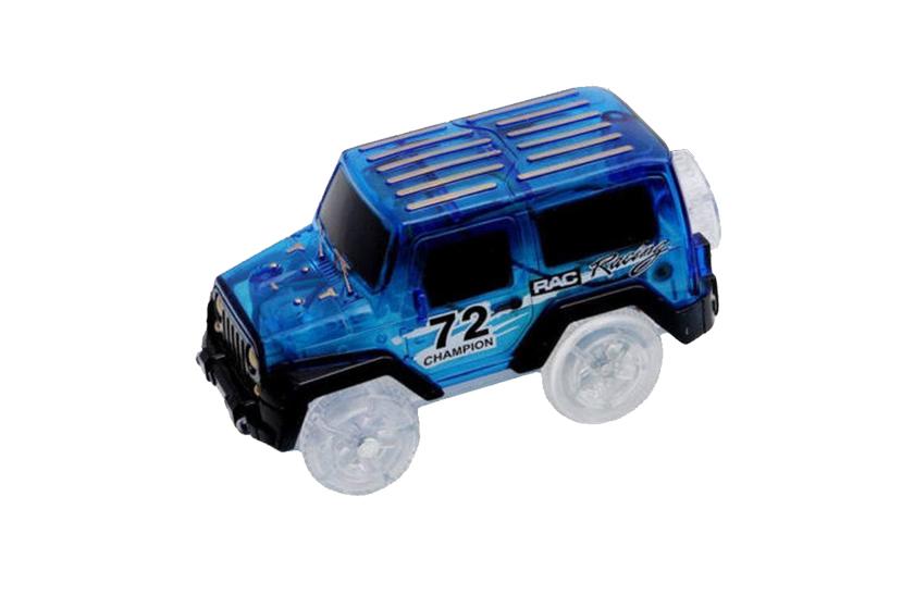 Autíčko k svítící autodráze - Modrá