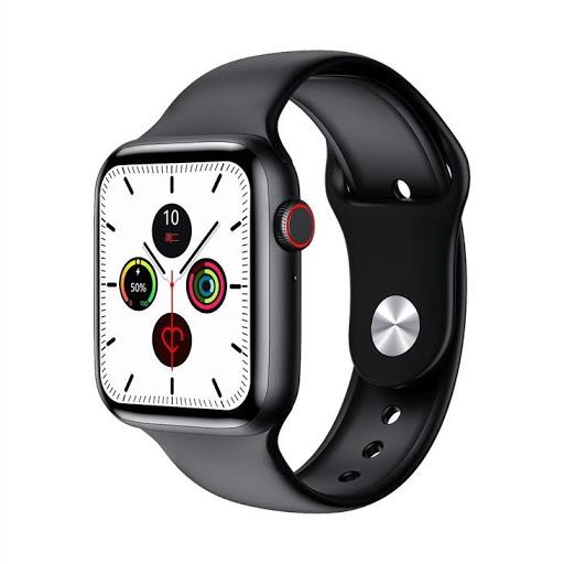 Chytré hodinky WATCH T500 - Chytré hodinky ČERNÉ