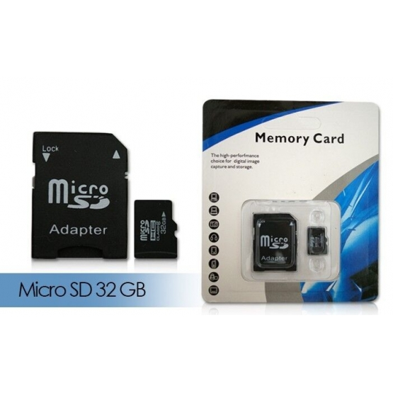 Micro SD Karta 32GB/64GB + adaptér - Micro SD Karta 32GB