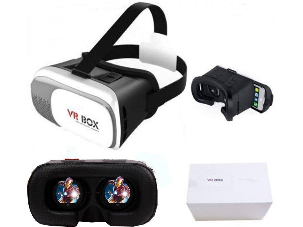 VR BOX VR-X2 bílé