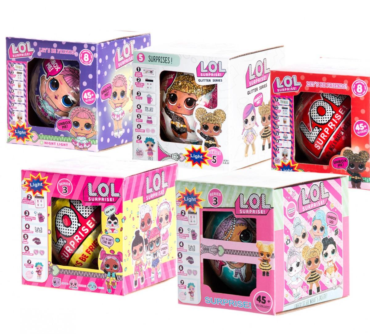 L.O.L. - panenka v kuličce