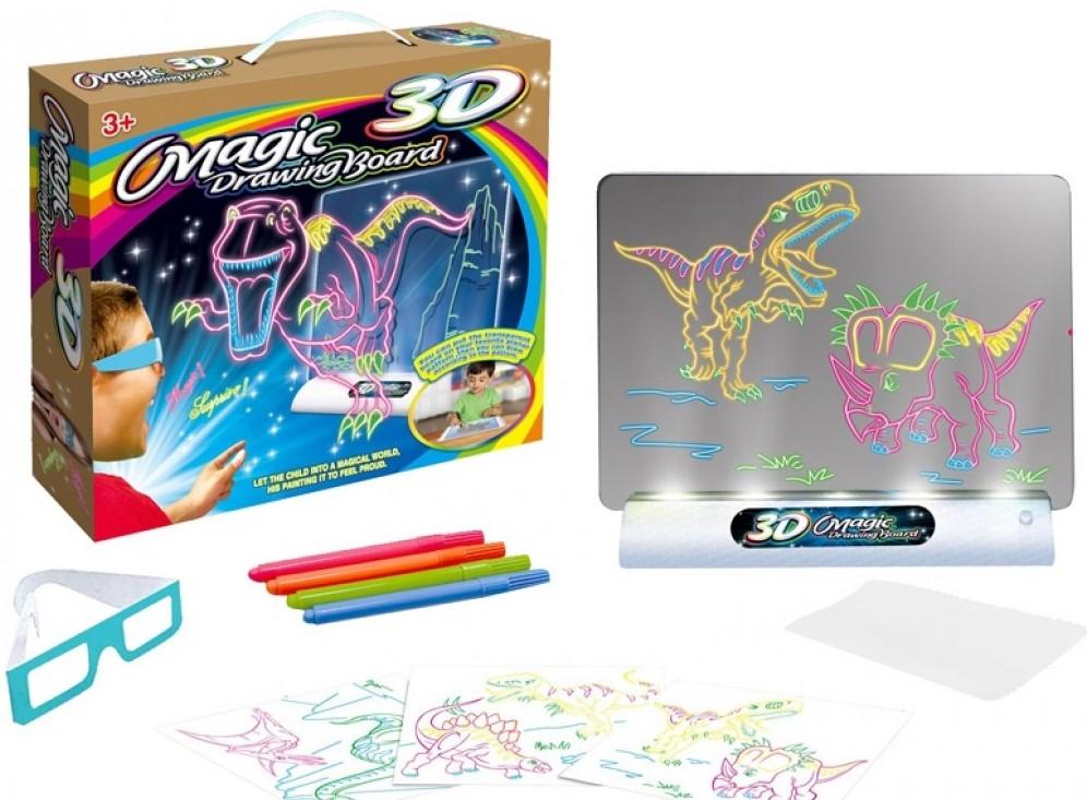 Magická kreslicí 3D tabulka