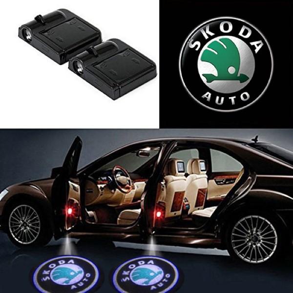 Auto LED logo projektor door-Light - Auto LED logo - ŠKODA