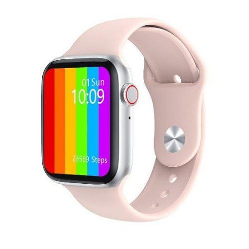 Chytré hodinky WATCH T500 - Chytré hodinky RŮŽOVÉ
