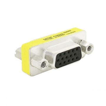 Adaptér VGA Female D-Sub HDB15 NANOCABLE 10.16.0001