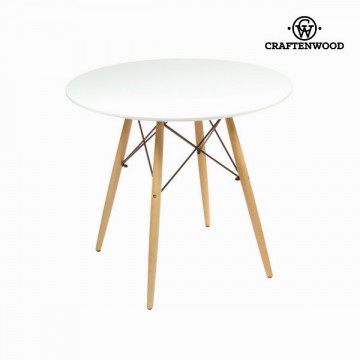 Round table white by Craftenwood