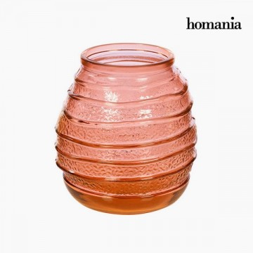 Vase made from recycled glass (18 x 18 x 19 cm) - Pure Crystal Deco Kolekce by Homania