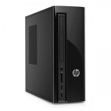Stolní PC HP 260-P100NS Intel Core i3-6100T 1 TB HDD 4 GB RAM Windows 10 Černý