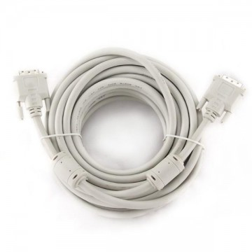 Kabel Video Digital DVI-D iggual IGG312650 Dual Link 10 m Bílý
