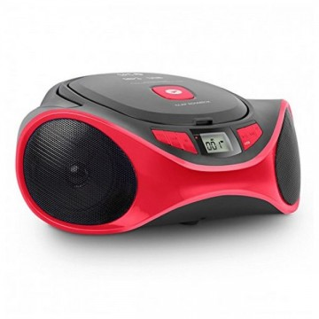 Rádio s CD MP3 SPC 4501R CLAM BOOMBOX USB Červený