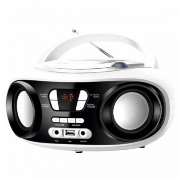Rádio s CD Bluetooth MP3 BRIGMTON W-501 USB Bílý