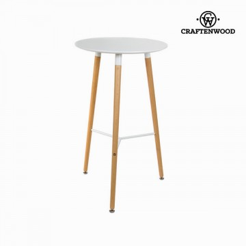 White bar table by Craftenwood