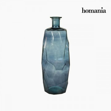 Vase made from recycled glass (27 x 27 x 75 cm) - Pure Crystal Deco Kolekce by Homania