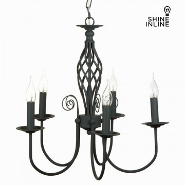 5 arms grey lamp by Shine Inline