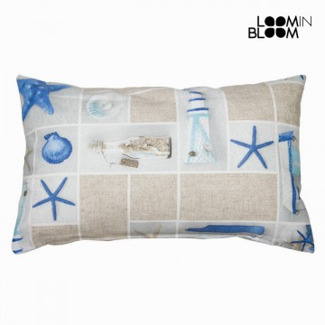 Pacific cushion by Loom In Bloom