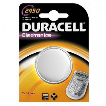 Lithium Button Cell Battery DURACELL DRB2450 CR2450 3V