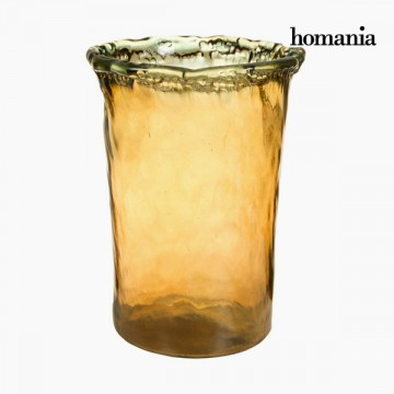 Vase made from recycled glass Jantar - Pure Crystal Deco Kolekce by Homania
