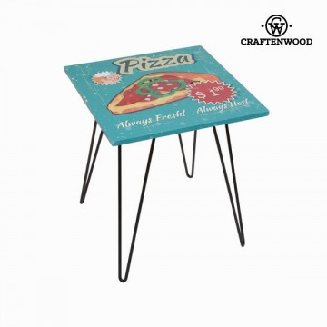 Square pizza table by Craftenwood