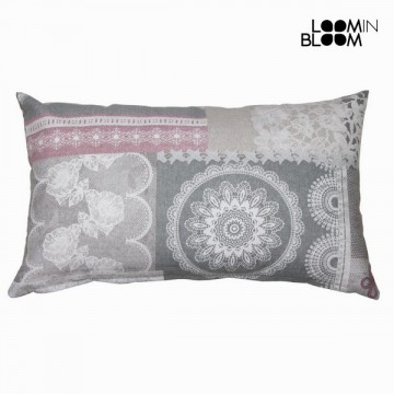 Patchwork cushion by Loom In Bloom