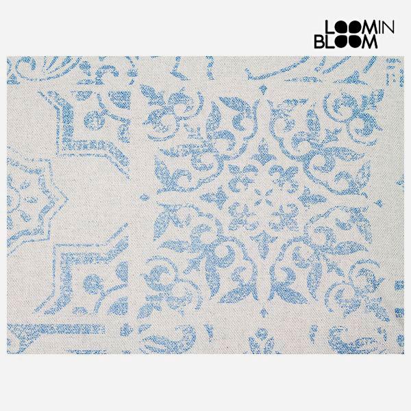 Poduszka Niebieski (50 x 70 cm) - Queen Deco Kolekcja by Loom In Bloom