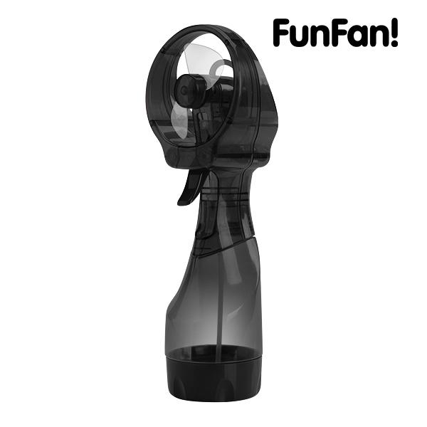 Přenosný Ventilátor s Rozprašovačem FunFan - Červený