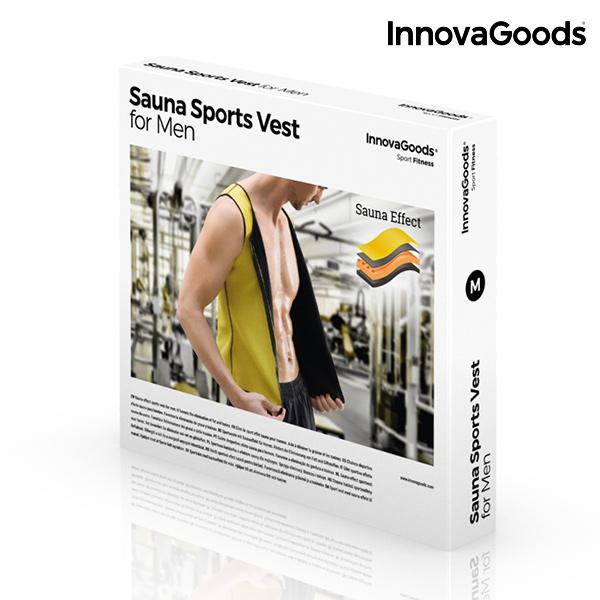 Pánská Sportovní Vesta se Sauna Efektem InnovaGoods - XL