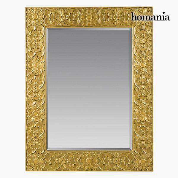 Lustro Kwadratowy Złoto - Queen Deco Kolekcja by Homania