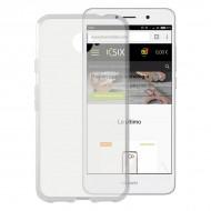 Puzdro na mobil Huawei Y7 Flex Transparentná