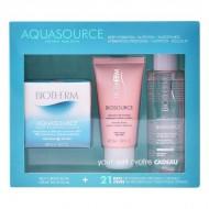 Souprava sdámskou kosmetikou Aquasource Creme Ps Biotherm (3 pcs)