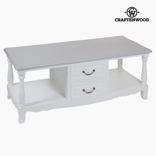 Bílý tv stolek altea by Craftenwood