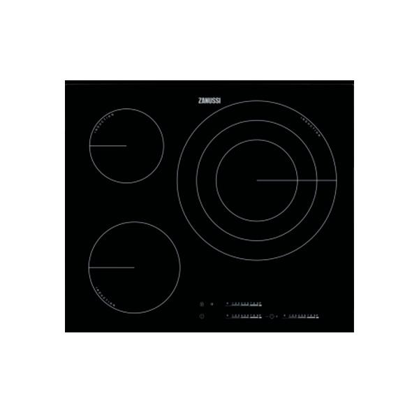Indukční Plotýnka Zanussi ZIT6375CB 60 cm Černý (3 místo pro vaření)