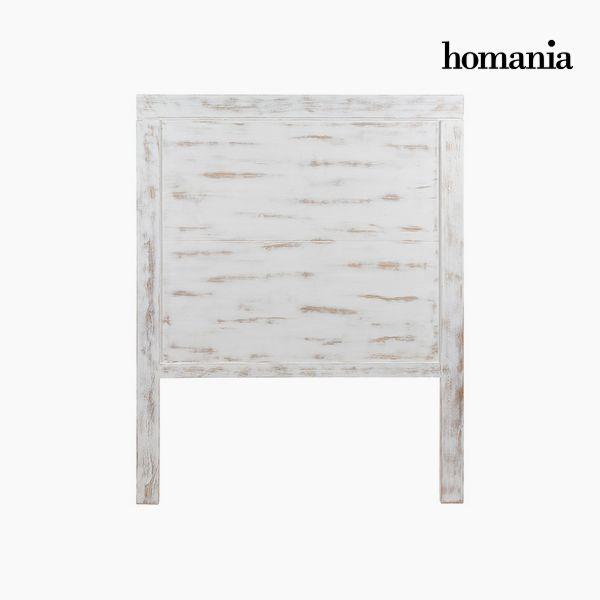 Zagłówek do łóżka Drewno mindi (115 x 3 x 145 cm) - Pure White Kolekcja by Homania