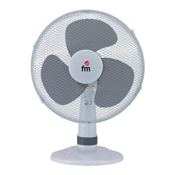 Stolní ventilátor Grupo FM S130 40W Bílý
