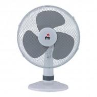 Stolový ventilátor Grupo FM S130 40W Biela